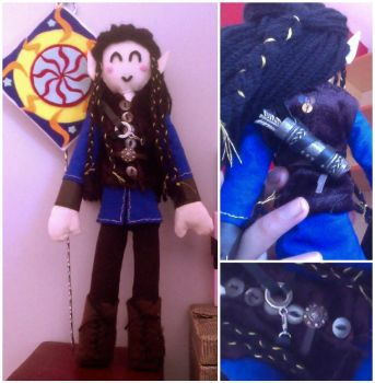Fingon Plushie: A First Look by QuantumPhysica