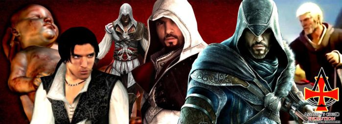 The Evolution of Ezio Auditore da Firenze by ACEvolution2013