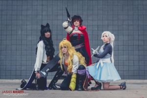 | Let's Just Live | RWBY Cosplay Group | by OhMyEggs