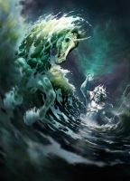 Poseidon - Creation of the first Horse by Apocalypse-tr