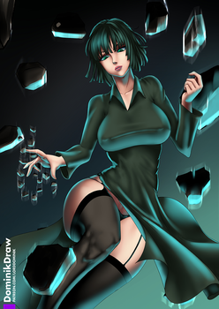 Fubuki - One Punch Man by Lord-Dominik
