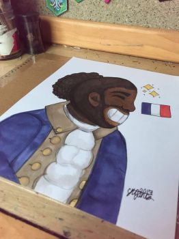 Another Lafayette   by lolleepoptarts