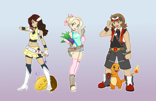 Pokemon OC's by Phanteia