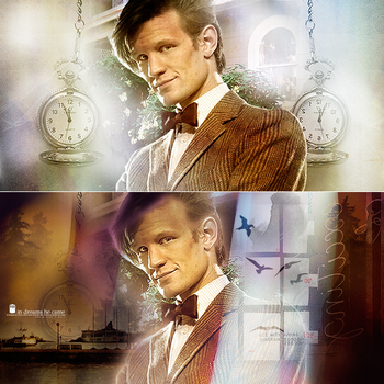 Doctor Who - Banners by girlgonegrey