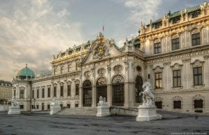 Wien - Obere Belvedere 2 by pingallery