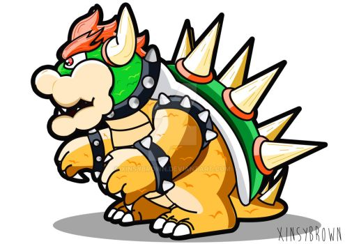 Bowser Vector art by XinsyBrown