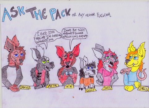 ask the Pack! by WereWolf39