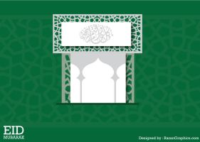eid 2011 greeting card2 by razangraphics