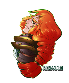 Rhialle - The Trap Artist by Bhryn