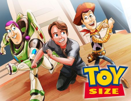 Toy Size poster by Bwolf201