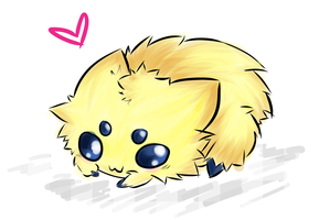 Joltik Sketch by CiLundi