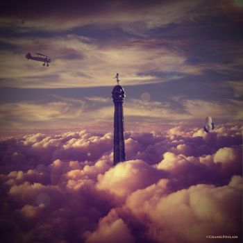 Somewhere Over The Clouds by ChanelPoulain