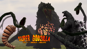 Super Godzilla Part 5 - Poster by AsylusGoji91