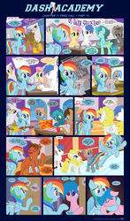 Dash Academy Chapter 7 - Free Fall #14 by SorcerusHorserus