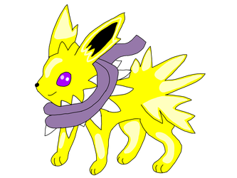 Speedy The Ink Jolteon by AsheAndCJThePikachus