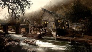 the mill by DProject-DMan