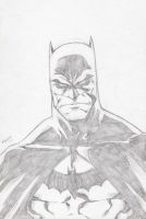 Batman sketch by Kid-Destructo