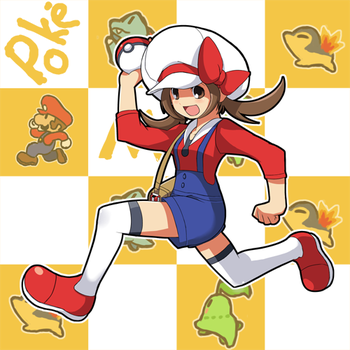 Girl Pokemon Trainer:Mario? by Cessa