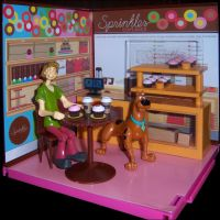 Shaggy  Scooby at Sprinkles by MisterBill82