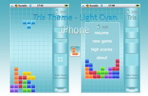 Tris Theme - Light Cyan by Dseo