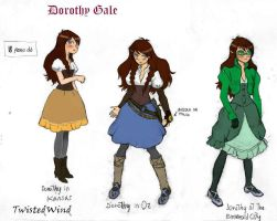 Dorothy Gale by twisted-wind