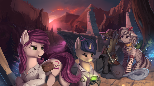 Calm of hope by DiscordTheGE