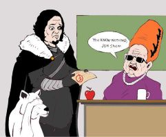 You Know Nothing, Jon Snow by TheKidIsGreen