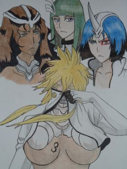 Espada and Fraccion by Wolfofshiver
