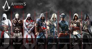 Altair to Arno Assassin's Creed Revolution by AkNiazi