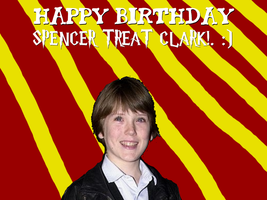 Happy Birthday Spencer Treat Clark! by Nolan2001