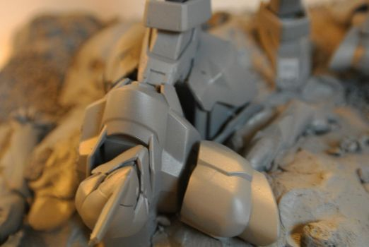 AX Gunpla entry Work In Progress by xgestaltx