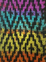 Mosaic Knitting Swatch by emiko42
