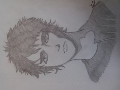 Billie Joe Armstrong (only a pencil) by Mich-C
