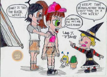 Art Jam Entry-The Blair Wanna-Be Witch Project by Urvy1A