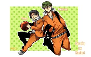 Shutoku Takao and Midorima KNB by ToNDWOo