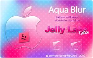 Aqua Blur Jelly Labs edition by Plexform