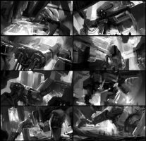 Mecha sketches by leventep