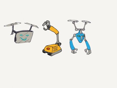 Robots by tharal2814
