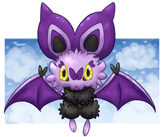 Ataro the Noibat [Art Raffle Prize]