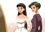 The bride dress by Katewind by Gwarriorfanfic