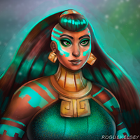 Illaoi Portrait by ROGUEKELSEY