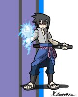 Sasuke Uchiha by ObsidianWolf7