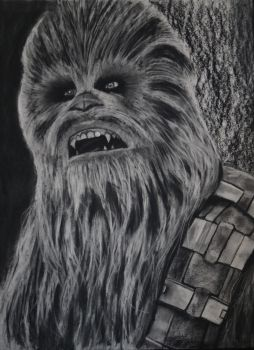 Chewbacca by candysamuels