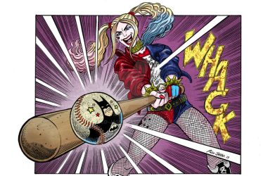 Harley Quinn The Bat Girl by POLO-JASSO