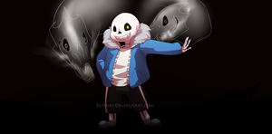 [UNDERTALE] Bad Time by Reyniki