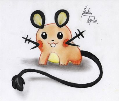 Dedenne by ChristARG