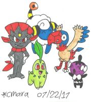 Team of Pokemon