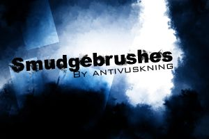 Smudge brush set by Antivuskning
