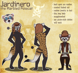 Reference Sheet: Jardinero by Zelendur