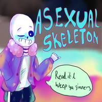 Asexual Skeleton by Sachiiii